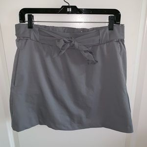 St. Johns bay medium active lined short Gray skort